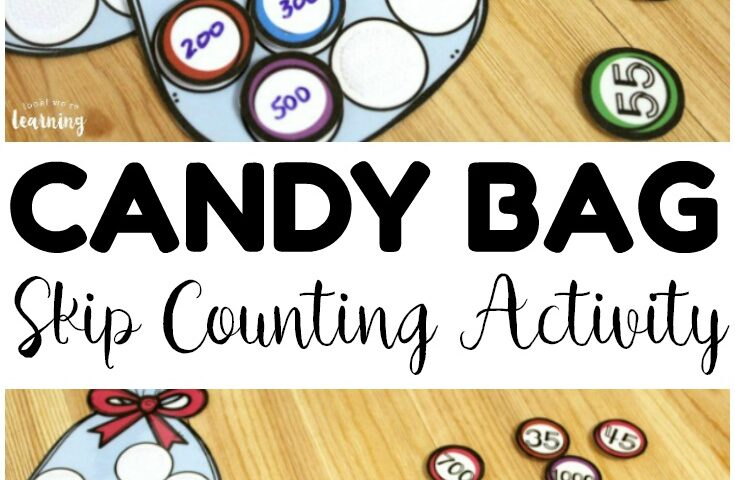 Candy Bag Skip Counting Activity for Kids