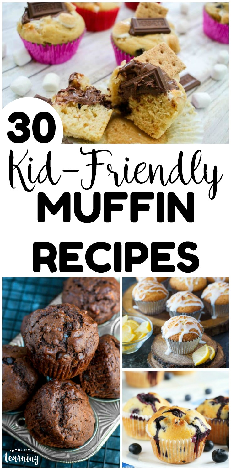 Warm up the little ones on cold mornings with these 30 kid friendly muffin recipes! Perfect for a quick weekday breakfast!