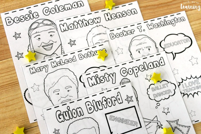 Black History Figure Coloring Pages