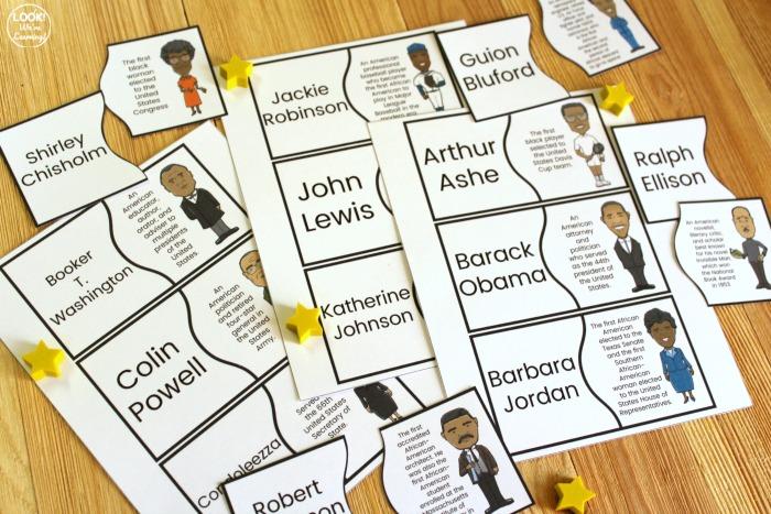 Black History Figure Puzzles