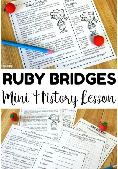 Ruby Goes to School! Mini Ruby Bridges History Lesson for Kids