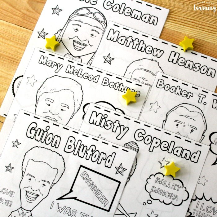 Printable Black History Coloring Pages