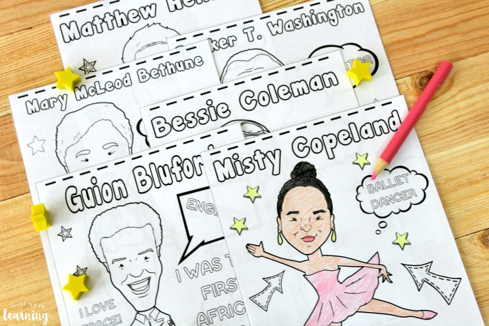 Printable Black History Figure Coloring Pages