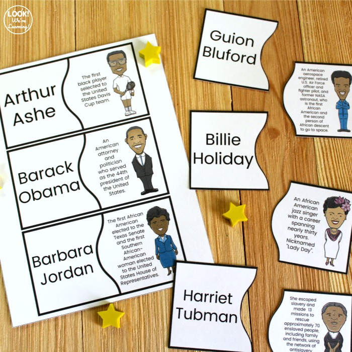 Printable Black History Puzzles for Kids