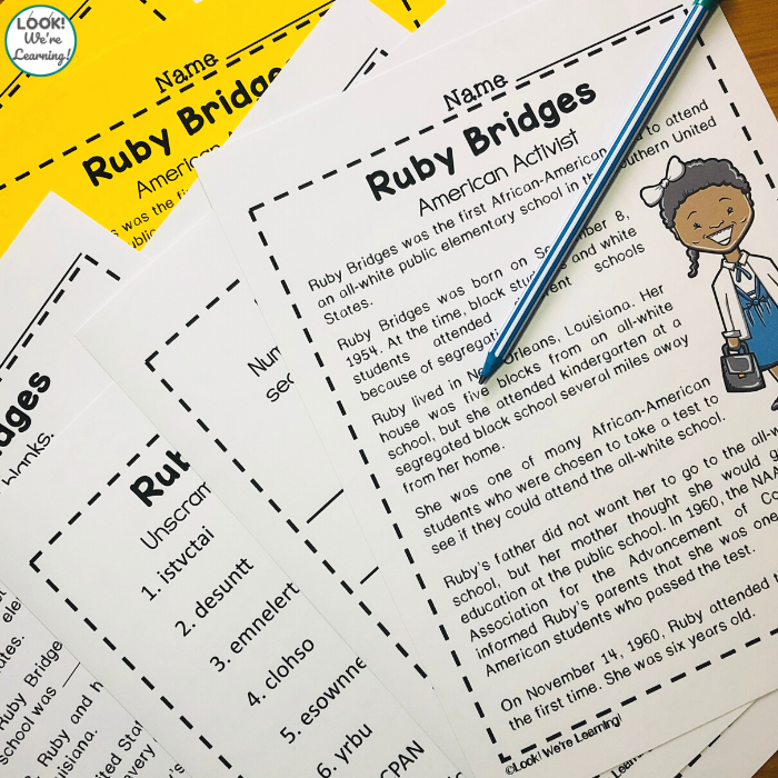 Ruby Bridges History Lesson