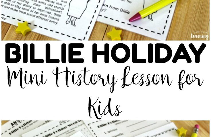 Lady Day Learning! Billie Holiday History Lesson for Kids