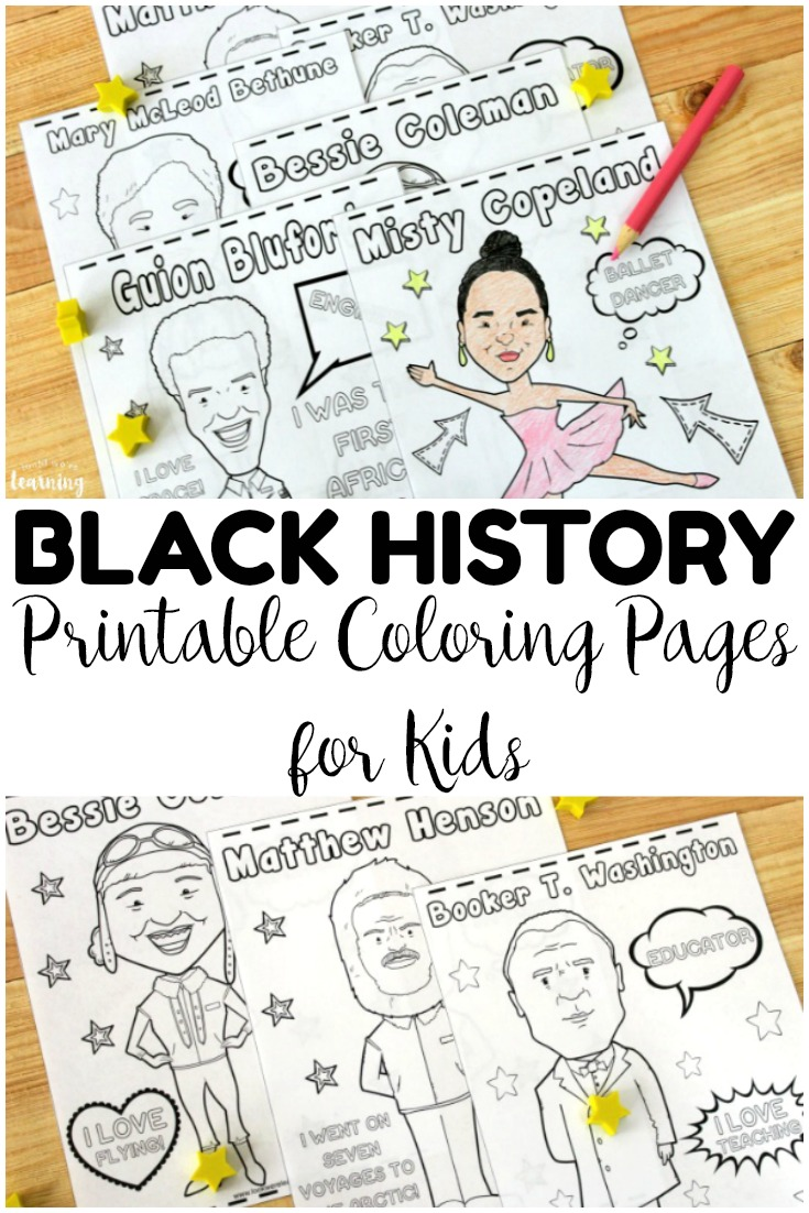 Black History Month Coloring Pages - Get Coloring Pages | 1102x735