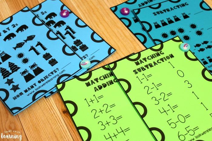 Yeti Math Practice Printables