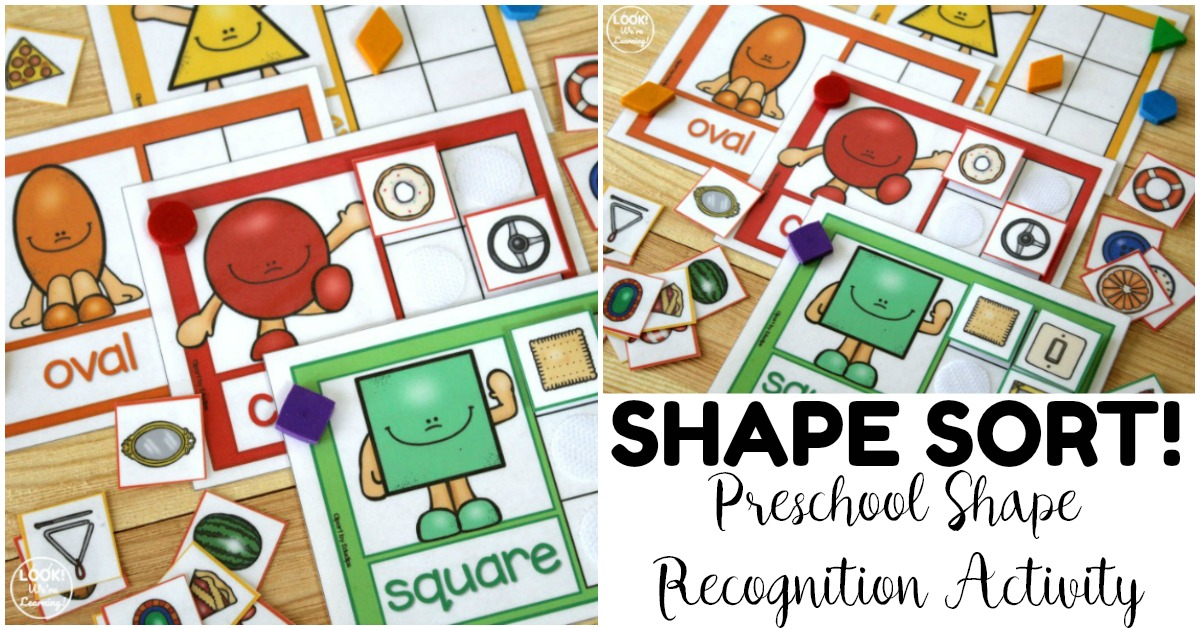 Fun Preschool Shape Sorting Mats for Kids