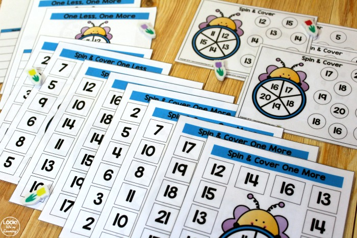 Bee Spin and Cover Counting Activity