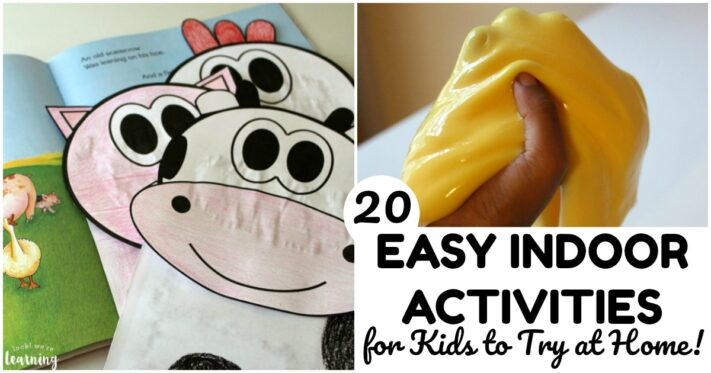 Easy Indoor Activities for Kids to Try