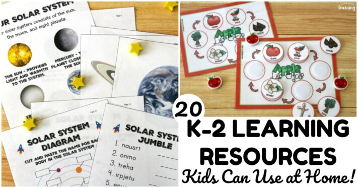 Fun K-2 Learning Resources Kids Can Use at Home