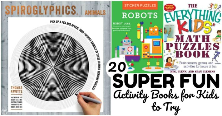 20 Super Fun Activity Books for Kids