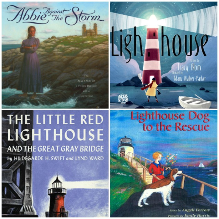Books about Lighthouses for Kids