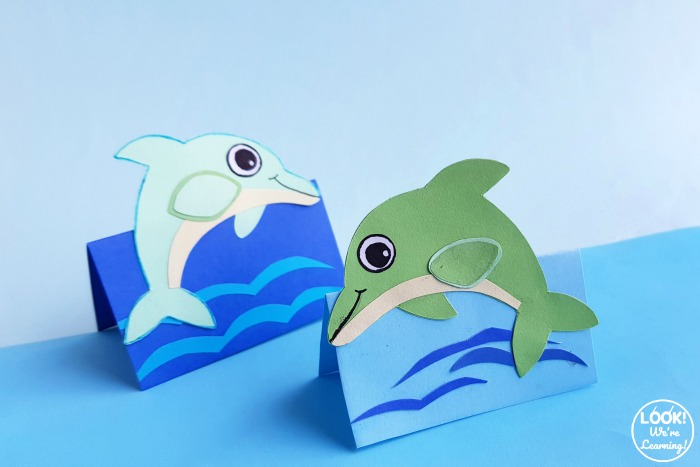 Fun Dolphin Craft to Make with Kids