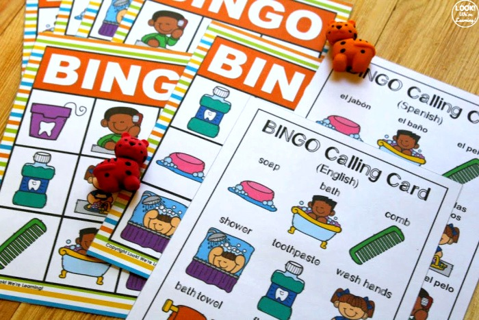 Fun Hygiene Bingo Game for Kids