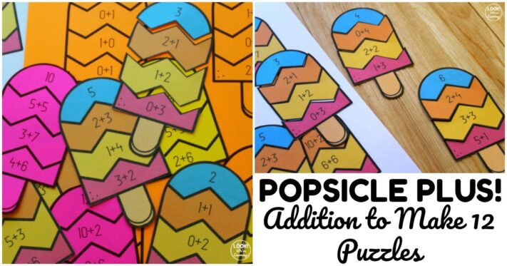 Fun Popsicle Addition Puzzles for Kids