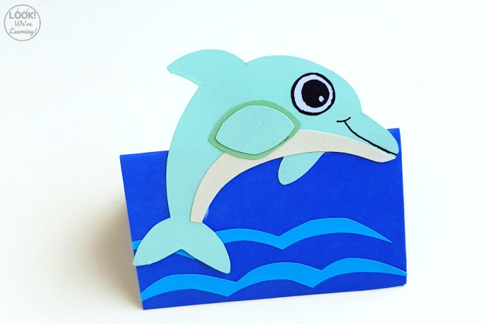 How to Make a Dolphin 3D Craft