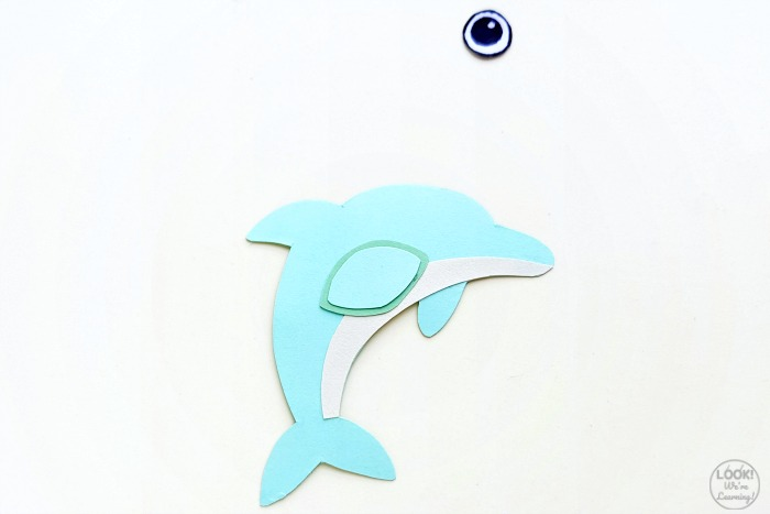 Making a Simple Paper Dolphin Craft
