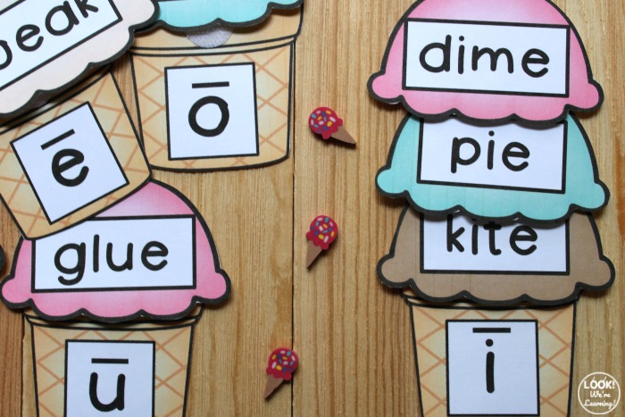 Vowel Sound Matching Activity for Kids