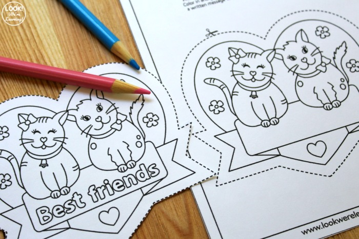 Best Friends Printable Notes for Kids