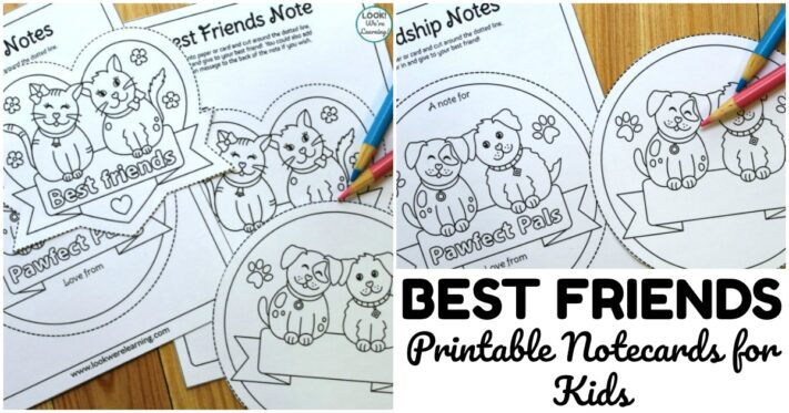 Fun Best Friend Notes for Kids