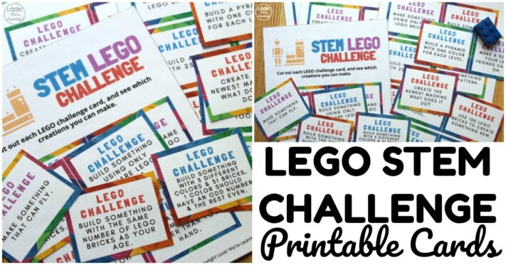 Fun LEGO STEM Challenge Cards for Kids