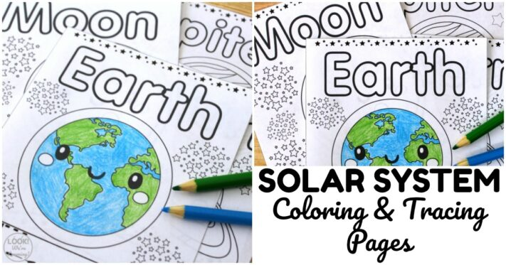 Fun Solar System Coloring Pages