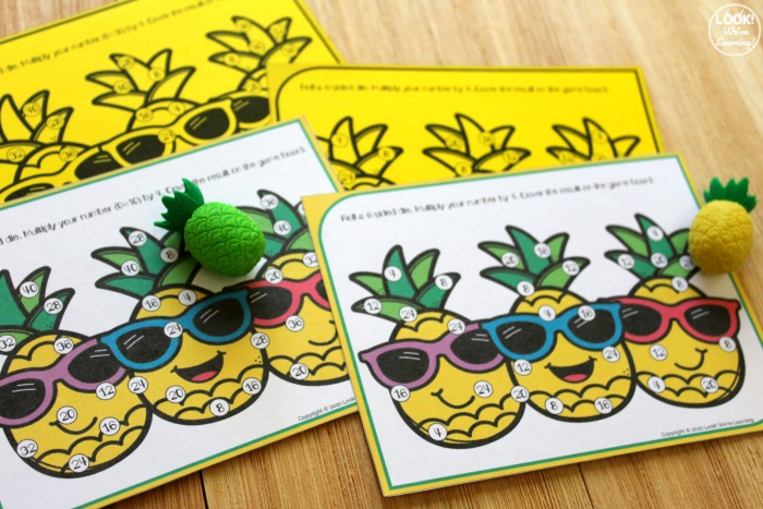 Pineapple Multiplication Game