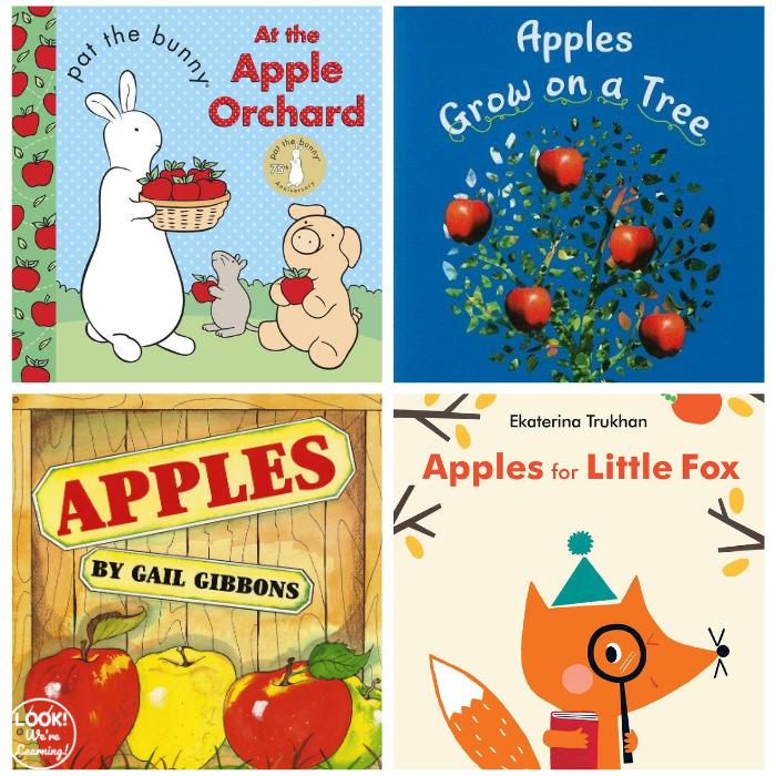 20 Apple Preschool Books for Kids to Read