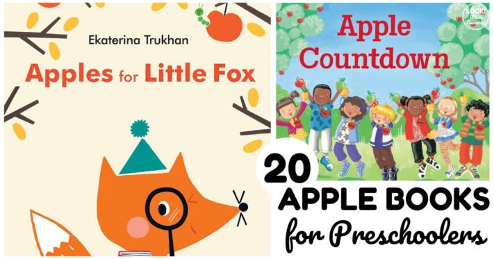 20 Engaging Apple Preschool Books