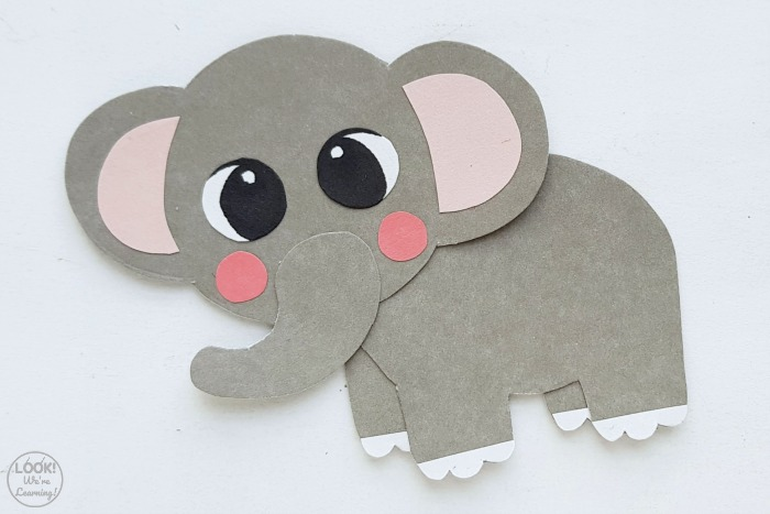 Fun Elephant Paper Craft for Kids