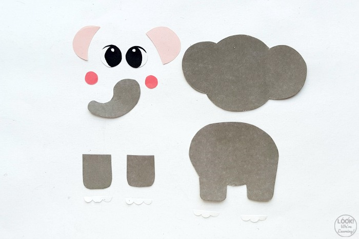 How to Make an Easy Paper Elephant Craft