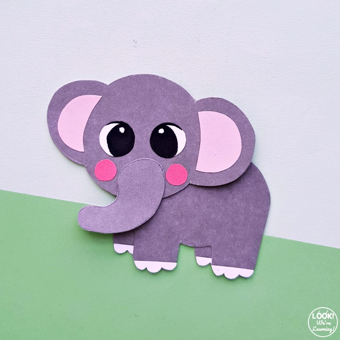 Making a Simple Elephant Paper Craft