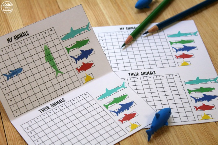 Ocean Animal Printable Rescue Game