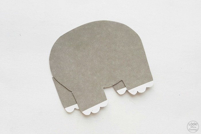 Paper Elephant Craft for Kids to Make