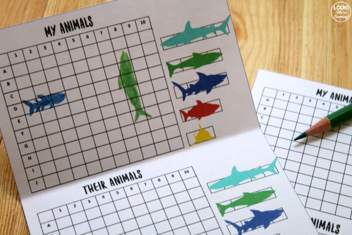 Printable Rescue the Ocean Animals Game