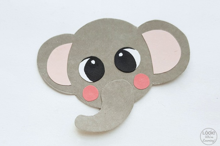 Simple Elephant Kids Craft