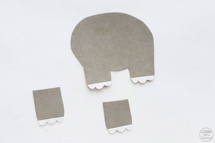 Simple Paper Elephant Craft for Kids