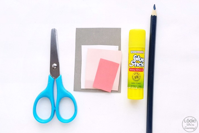 Supplies to Make an Elephant Craft for Kids
