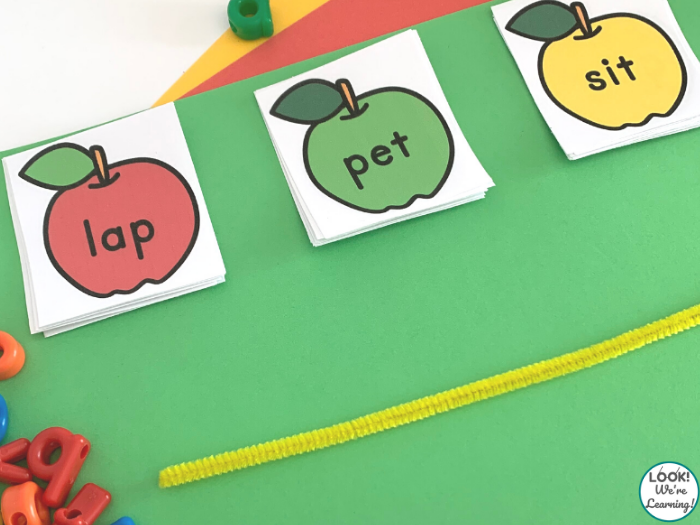 Apple Themed Literacy Activity
