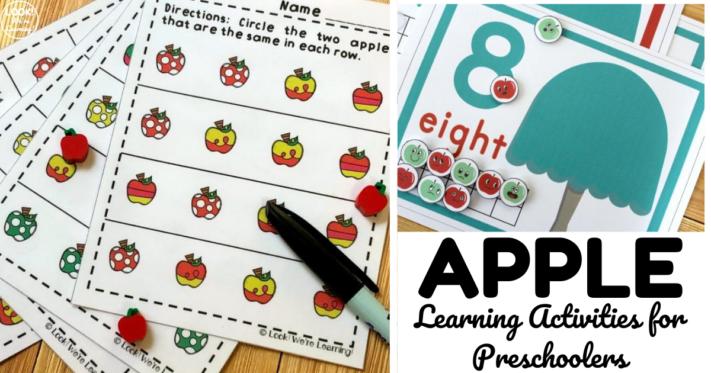 Fun and Easy Apple Activities for Preschoolers