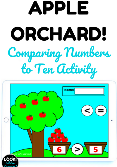 Learn how to compare numbers up to ten with this fun digital apple picking activity!