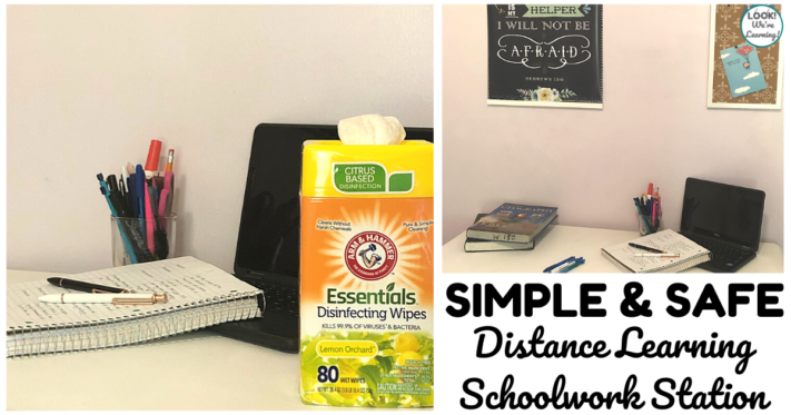 How to Set Up A Simple Distance Learning Station Safely