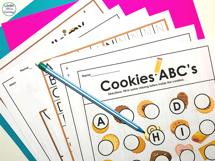 Cookie ABC Practice for Kids
