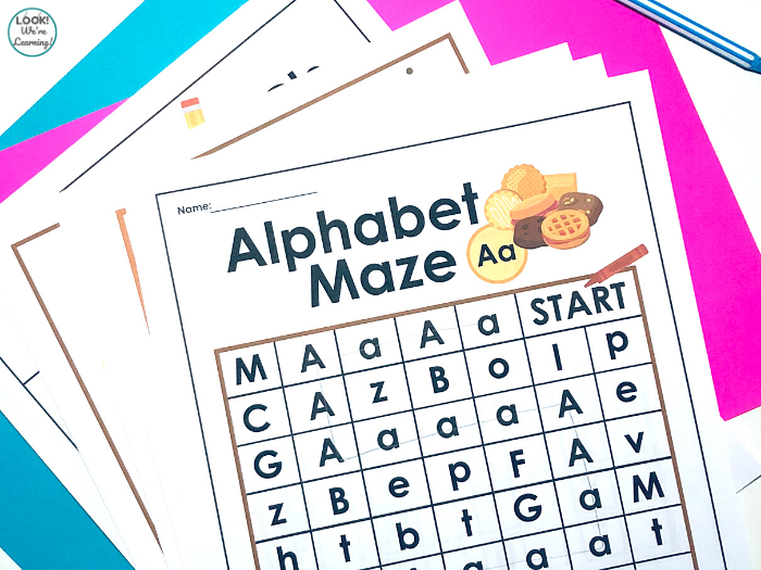 Cookie Alphabet Activities for Kids