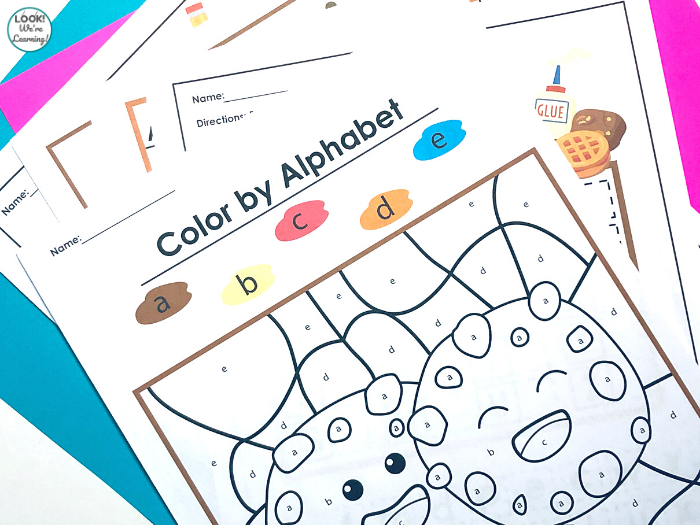 Printable Cookie Alphabet Practice