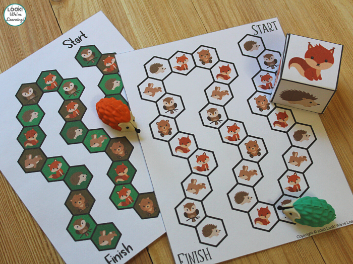 Printable Woodland Animals Game