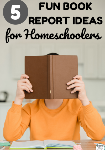These five fun homeschool book report ideas are excellent for assessing reading comprehension with kids!