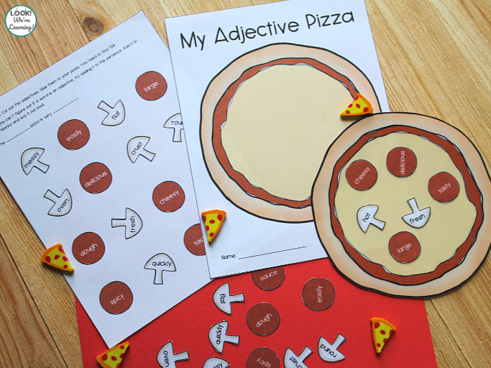 Adjective Sorting Activity for Early Elementary